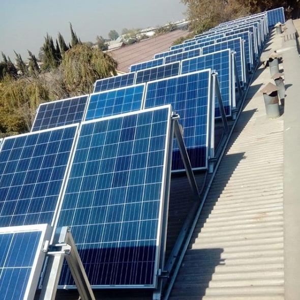 error diseño paneles solares sombreados